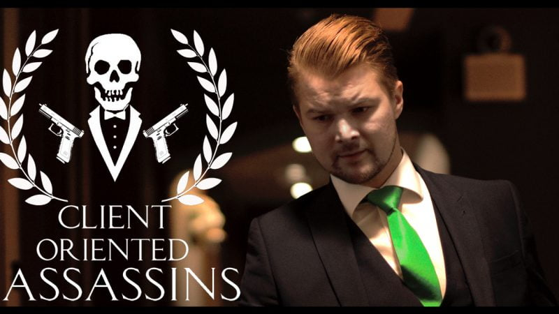 CLIENT ORIENTED ASSASSINS - SHORT FILM BY THE DIRECTOR MATEJ STEPAN - POSTER