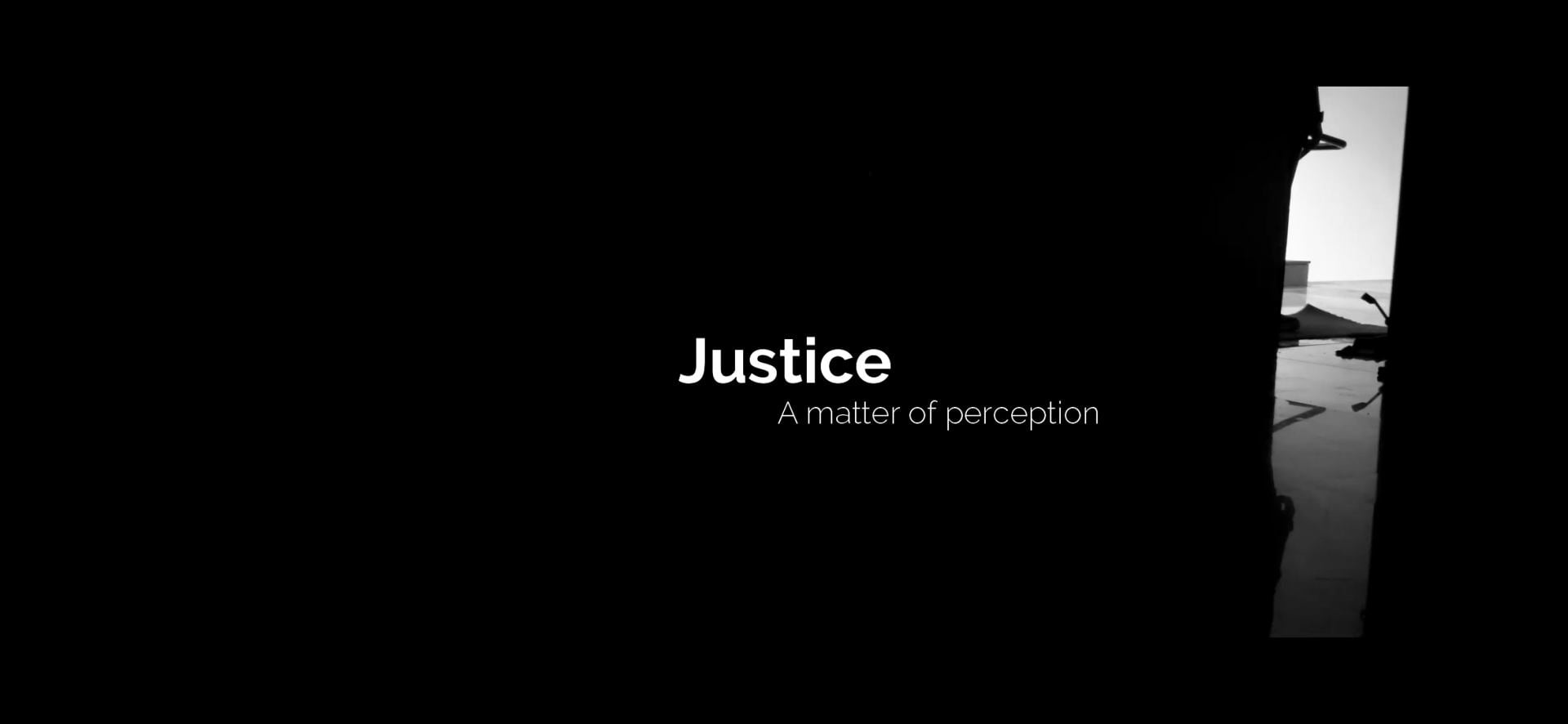 justice_ A matter of perception